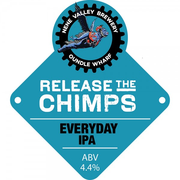 Release the Chimps IPA - Nene Valley Brewery - Thirst Bourne